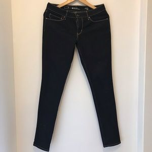 Levi's Dark Wash Skinny Jeans